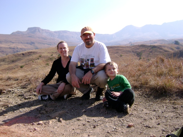 My Family in Drakensberg