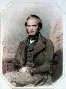 Darwin was a tinkerer. (Richmond's portrait of Darwin is from 1840)