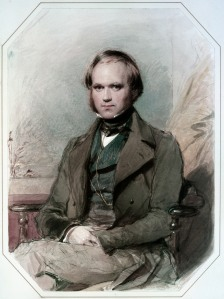 Darwin was a tinkerer. (Richmond's portrait of Darwin is from 1840)