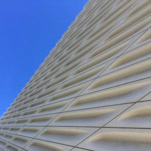 The exterior of The Broad.